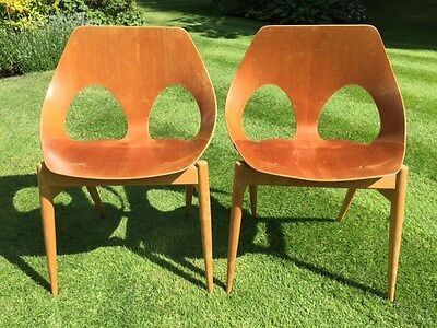 A pair of 1950's Jason chairs by Carl Jacobs for Kandya