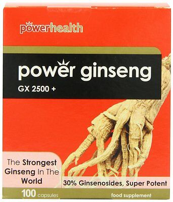 Power Health Power Korean Ginseng GX2500+ 100 Capsules for anyone