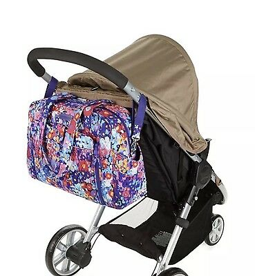 NWTS Vera Bradley Stroll Around Baby Bag Changing Pad Diaper Bag Impressionista
