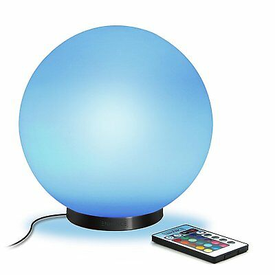 "ENHANCE Color Changing Childrens 5.9"" LED Mood Lamp M Night Light with 4 Modes &"