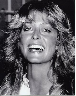 Farrah Fawcett - Beautiful 8x10 BW Photo from personal negative