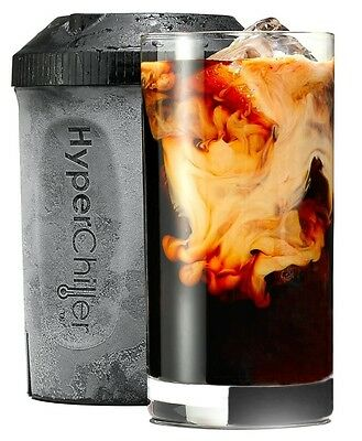 HyperChiller Iced Coffee Maker Chill Whiskey Iceless Wine Chiller Iced Tea FAST
