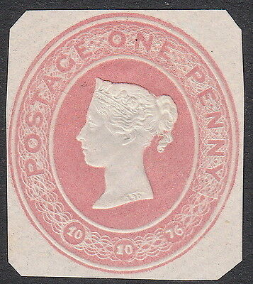 Victorian QV GB Postal Stationery 1d  - Mounted Mint