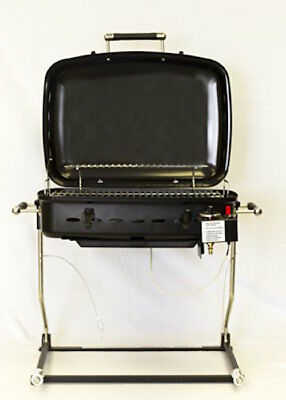 Camper RV Mounted BBQ Gas Grill Removable for Free Standing New