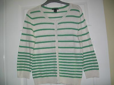 Ladies Summer Cardigan Size Small (Uk 12) By H&m