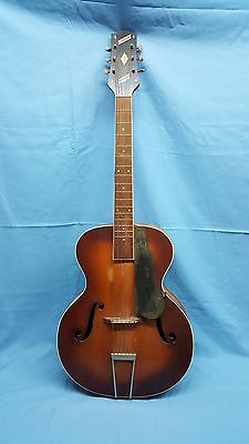 1930's Slingerland Songster f hole Hollow Body Guitar