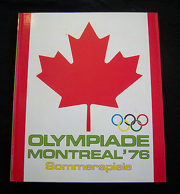 Orig.Sticker Album   Olympic Games MONTREAL 1976  //  Complete  !!  EXTREM RARE
