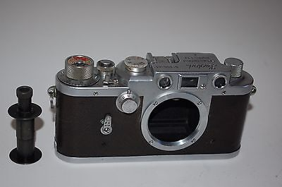 Leotax-K Vintage Japanese Rangefinder Camera Body. Service. 555344. UK Sale