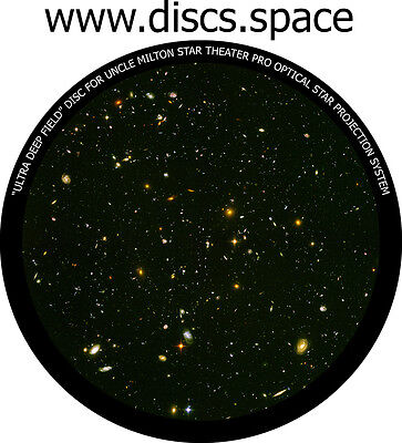 """""""Ultra deep field"""" disc for Uncle Milton Star Theater Pro home planetarium"""