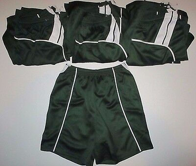 ALLESON Athletic Women's Basketball Shorts (13 Pairs) GREEN Medium Large XL NEW