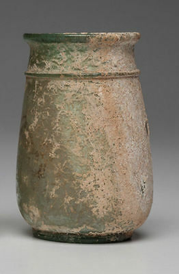 ANCIENT ROMAN GLASS Drinking Cup Ca. 1st-3rd century A.D.