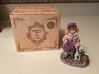 Boyds Yesterday's Child Dollstone Collection Elizabeth And Gary Goin' To Grandma