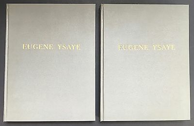 Eugene YSAYE (Violinist): Biography Inscribed by his Son, with Autograph Letter