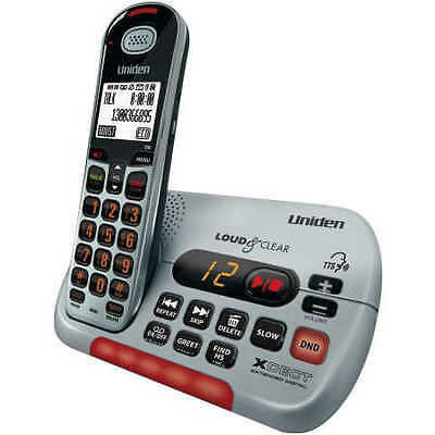 NEW Uniden SSE35 Visual and Hearing Impaired Cordless Digital Phone System