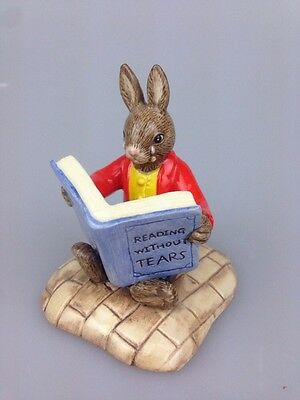 Royal Doulton - Bunnykins Figure - William Reading Without Tears  Db401 No Box
