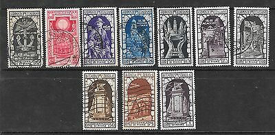 ITALY - 1934 Annexation of Fiume - Nice Used Lot  - VFU