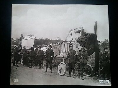 K156. PHOTO 275X225. 1914~. TRANSPORT D'UN AVION ALLEMAND. Paul Hoffmann. Berlin