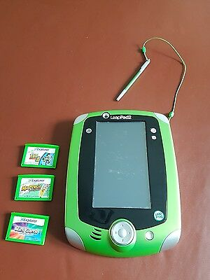 leap pad 2 with 3 games