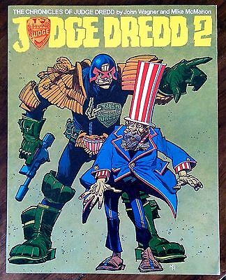 """The Chronicles of Judge Dredd """"Judge Dredd 2"""" 1983 1st edition soft cover book"""