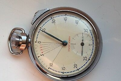 VINTAGE YACHTSMAN INGERSOLL 53mm WORKING STOPWATCH