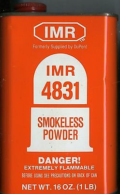 Vintage IMR 4831 Powder Can (EMPTY)
