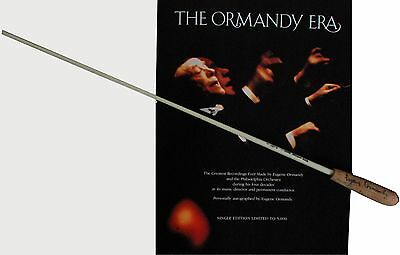 Eugene ORMANDY (Conductor): Used and Signed Baton