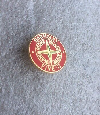 Barnsley Supporter Enamel Badge  - Five - O Casual Firm Very Rare