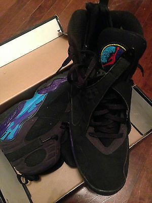 Nike Air Jordan 8 Aqua used size 14 - 2007