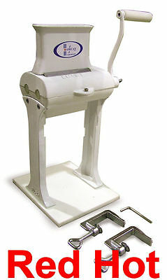 New Fma Omcan 10884 Commercial Cast Iron Manual Meat Tenderizer Free Shipping