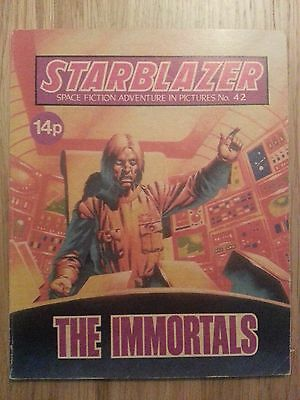 Starblazer Issue No 42 - The Immortals