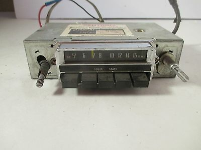 Vintage Renault 8-Track AM Radio Player Model R-420 Auto / Car Untested