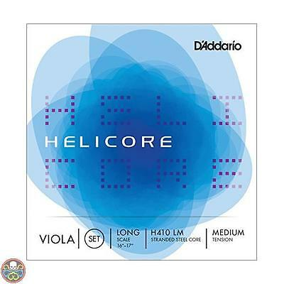 Daddario Tg: Set H410 Helicore Viola Long / Medium Nuovo