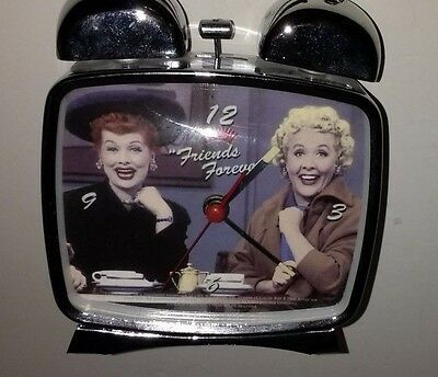 I Love Lucy Wind Up Alarm Clock~Friends Forever~Twin Bells