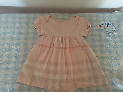 Burberry Baby Girls Dress - Size 12 Months