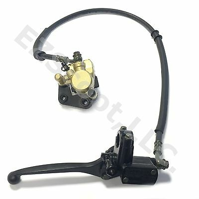 Hydraulic Brake Assembly Cylinder Caliper  Scooter 1E40Qmb 2 & 4 Stroke Gy6