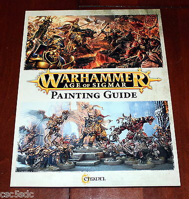 Warhammer Age of Sigmar Painting Guide Stormcast + Khorne 2015 Games Workshop