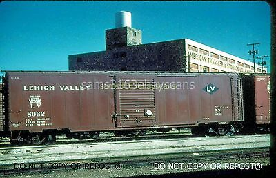 Dupe Slide Lehigh Valley Rr 50Ft Boxcar 8062