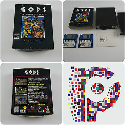 Gods A Bitmap Brothers Game for the Commodore Amiga Computer tested & working