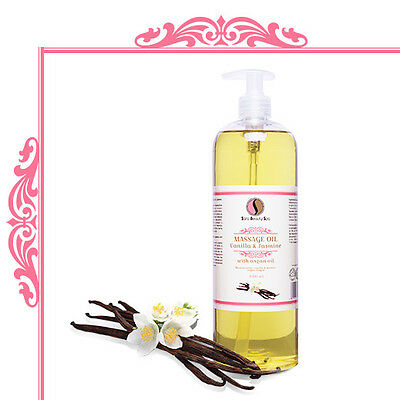 Sara Beauty Spa Vanilla&Jasmine Massage Oil 1000ml
