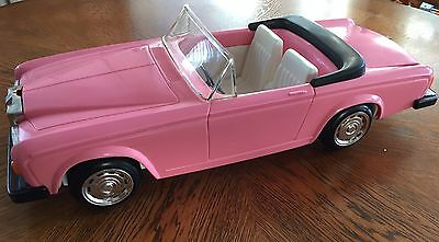 Vintage BARBIE Car Zima Pink Rolls Royce Convertible!