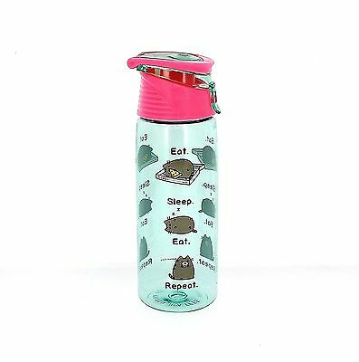 Pusheen Sports Water Bottle Gym School College Gift Summer Kawaii Beach