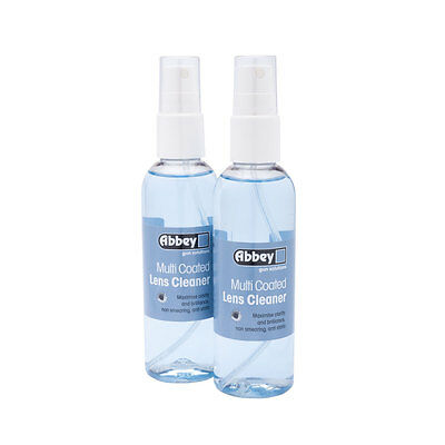 Abbey multi coated lens cleaner 100 ml , limpia cristales de gafas airsoft
