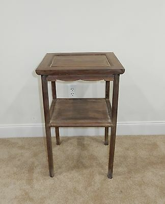 Gorgeous Antique Chinese Huanghuali  Wood  Two Tier Side Table RARE!!  28 inches