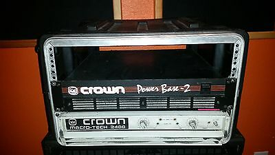 crown macro tech 2400 ma2400 power amplifier