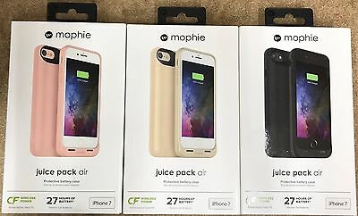 Mophie Juice Pack Air Protective Battery case for iPhone 7 iPhone 7 Plus