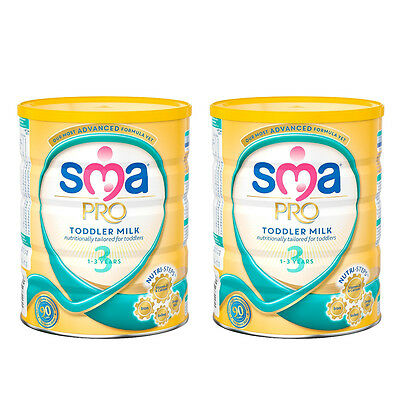 SMA PRO Toddler Milk 1-3 Years 800g 2 Pack