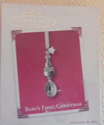 Hallmark Keepsake Baby's First Christmas 2003