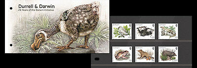 Jersey 2017 Durrell Darwin Initiative reptile bat frog bird rodent  6v mnh PACK