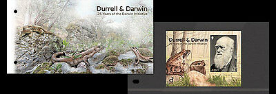 Jersey 2017 Durrell Darwin Initiative portrait nature frog trees   ms1v mnh PACK