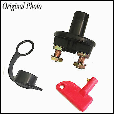 Car Truck Boat Camper Battery Isolator Disconnect Cut Off Power Kill Switch